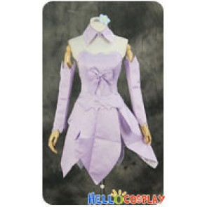 Sword Art Online Cosplay Yui Purple Dress Costume