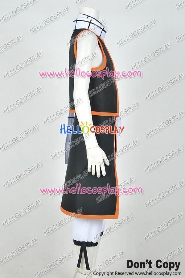 Fairy Tail Season 1 Cosplay Natsu Dragneel Uniform Costume