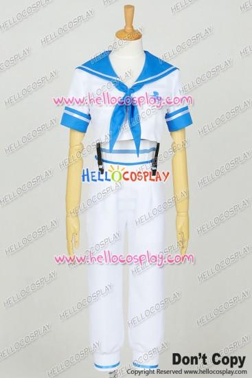 Free! - Iwatobi Swim Club Cosplay Haruka Nanase Sailor Uniform Costume