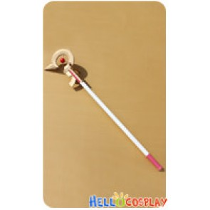 Magical Girl Lyrical Nanoha Cosplay Nanoha Takamachi Stick Prop