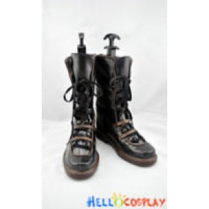 Chrome Shelled Regios Cosplay Haia Salinban Lyia Boots
