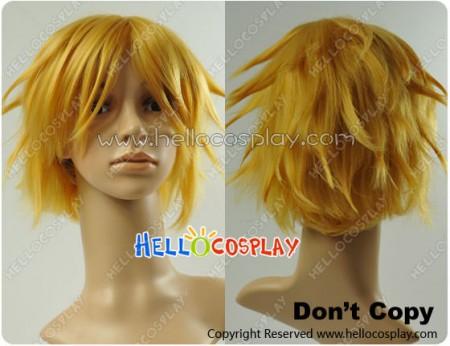 Vocaloid Secret Police Kagamine Rin Cosplay Wig