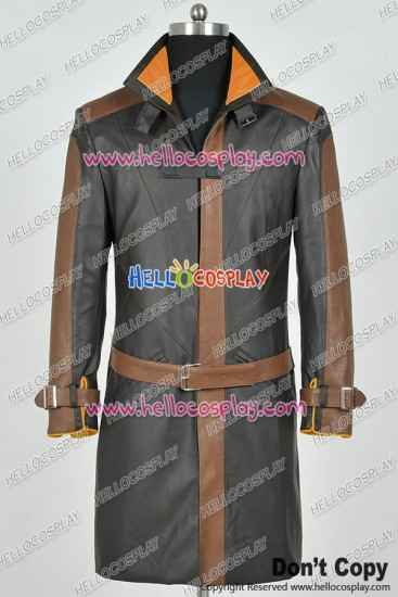 Watch Dogs Cosplay Hacker And Vigilante Aiden Pearce Costume Jacket