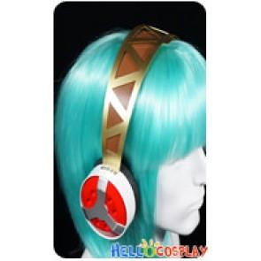 Shin Megami Tensei Persona 3 Cosplay Aigis Headphone Headset With MP3