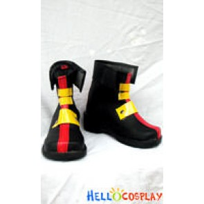 Magical Girl Lyrical Nanoha Cosplay Teana Lanster Short Boots