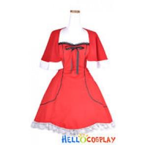 Vocaloid 2 Cosplay Meiko Costume Santa Version