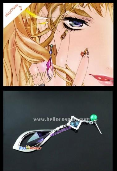 Macross Frontier Cosplay Sheryl Nome Earring Needle Style