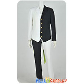 Black Jack The Manga Cosplay Black Jack Black White Costume Two Face Suit