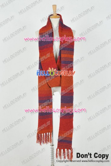 Doctor Fourth Doctor 4th Dr Scarf Red