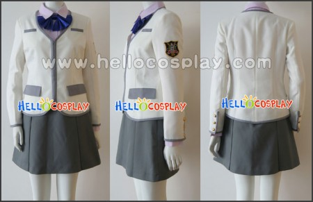 Kin'iro no Corda Shoko Fuyumi Cosplay Costume Uniform