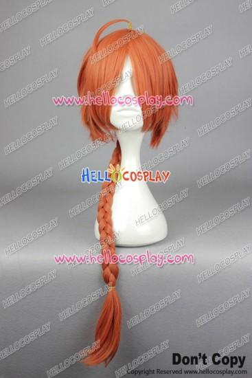 Gin Tama Kamui Cosplay Wig Orange