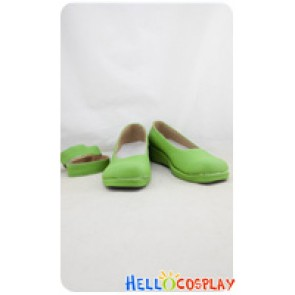 Love Live! School Idol Project Cosplay Shoes Kotori Minami Shoes Green