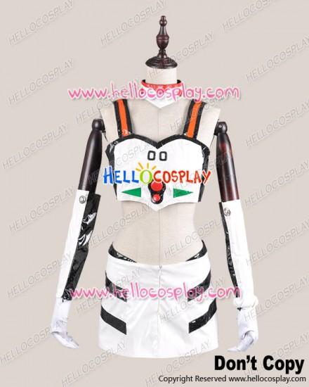 Neon Genesis Evangelion EVA Cosplay Ayanami Rei Race Queen Costume