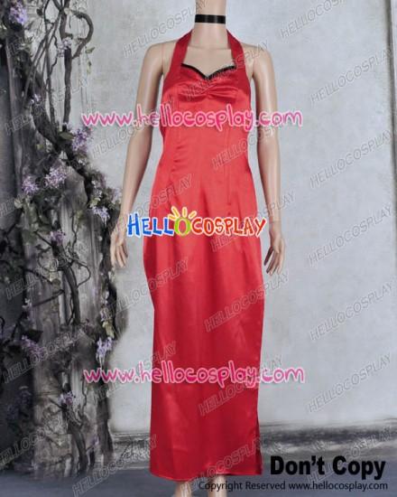 Resident Evil 5 Cosplay Ada Wong Costume Dress