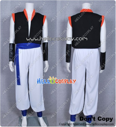 DBZ Dragon Ball Z Gogeta Cosplay Costume