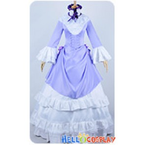 Gosick Cosplay Victorique De Blois Purple Formal Dress Costume