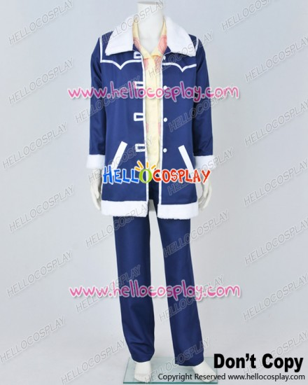 One Piece Cosplay Female Admiral Tashigi Blue Uniform Costume