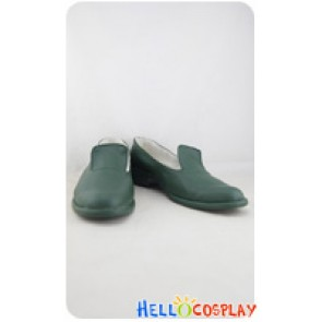 Hunter X Hunter Cosplay Zaoldyeck Yellmi Green Shoes