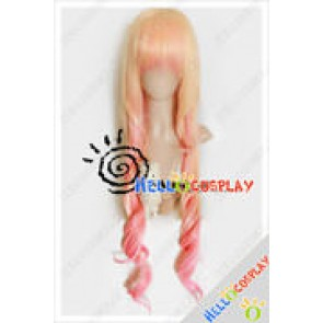 Macross Frontier Cosplay Sheryl Nome Pink Wig