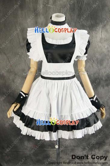 Maid Dress Cosplay Classical Maid Girl Dress Costume