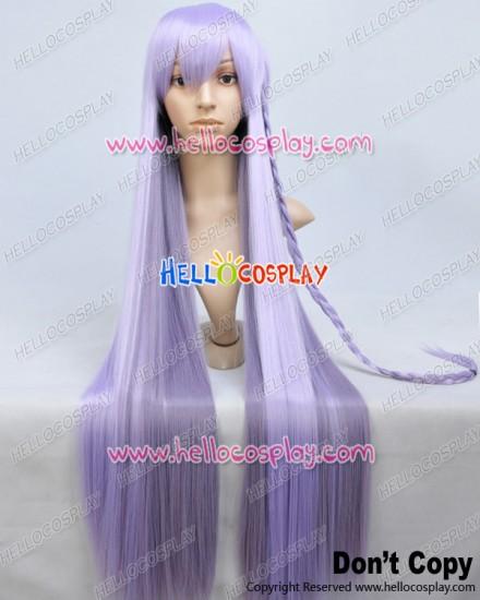 Danganronpa Dangan Ronpa Cosplay Kyoko Kirigiri Purple Pigtail Wig