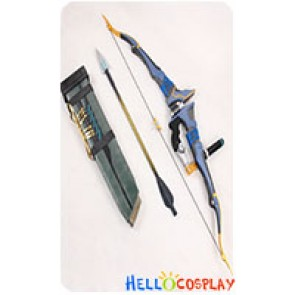 Overwatch Cosplay Hanzo Shimada Bow Arrow