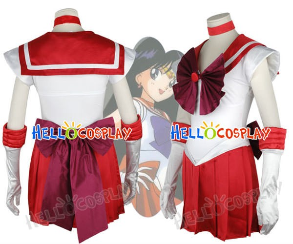 sc 1 st  Hello Cosplay & Sailor Moon Hino Rei Sailor Mars Cosplay Costume New