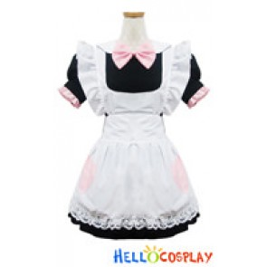 Angel Feather Cosplay Lolita Candy Doll Maid Dress