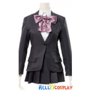 The Disappearance Of Suzumiya Haruhi EVA Cosplay Sunshine Academy Girl Uniform Costume