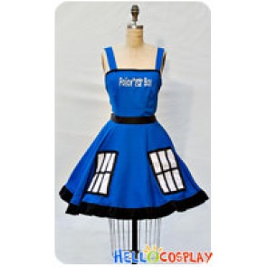 Doctor Cosplay Tardis Costume Retro Style Dress