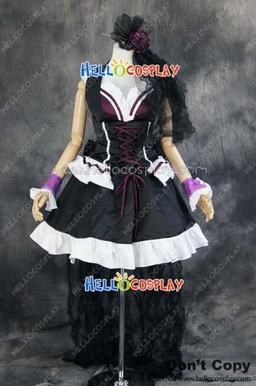 Macross Frontier Cosplay Sheryl Nome Queen Poster Dress Costume
