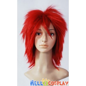 Red Short Cosplay Wig 006