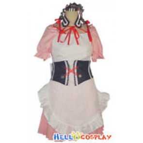 The Melancholy Of Haruhi Suzumiya Cosplay Costume Pink