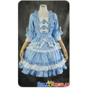 Lolita Sweet Gothic Dress Cosplay Costume Lace