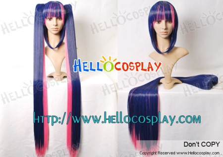 Panty & Stocking with Garterbelt Stocking Cosplay Wig Ponytails