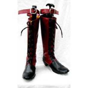 Black Butler Cosplay Ciel Phantomhive Red Boots