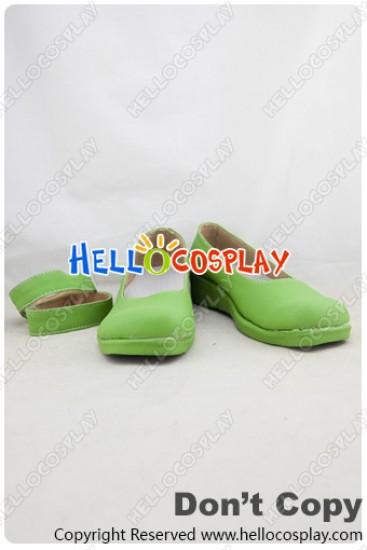 Love Live! School Idol Project Cosplay Shoes Kotori Minami Shoes Green