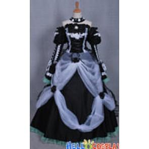 Vocaloid 2 Dress Cantarella Hatsune Miku Cosplay Costume