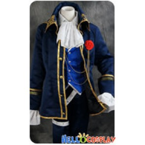Vocaloid 2 Cosplay DIVA F Kaito Suit Uniform Costume