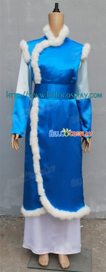 Katara Cosplay Costume From Avatar The Last Airbender