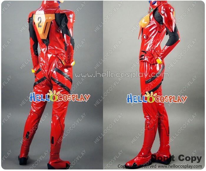 64d5e98e90 Neon Genesis Evangelion Cosplay Asuka Langley Soryu Plugsuit