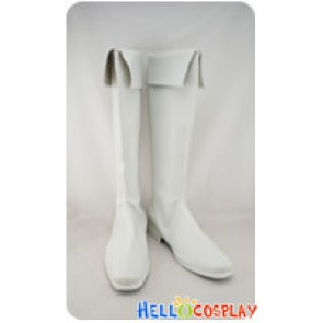 Star Driver Cosplay Shoes Sword Star White Boots