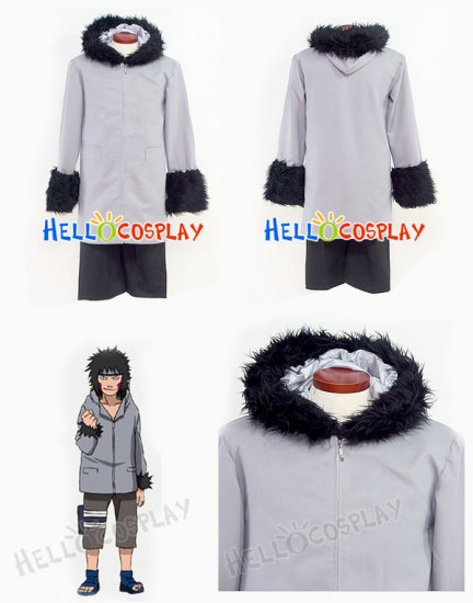 Naruto Kiba Inuzuka Cosplay Costume