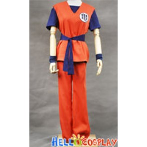 DBZ Dragon Ball Z Goku Cosplay Costume