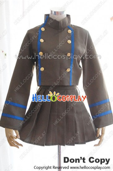 Katekyo Hitman Reborn Cosplay Chrome Dokuro Brown Uniform Costume