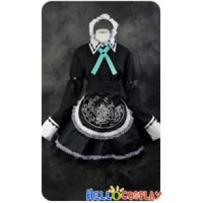 Touhou Project Cosplay Sakuya Izayoi Maid Dress Costume