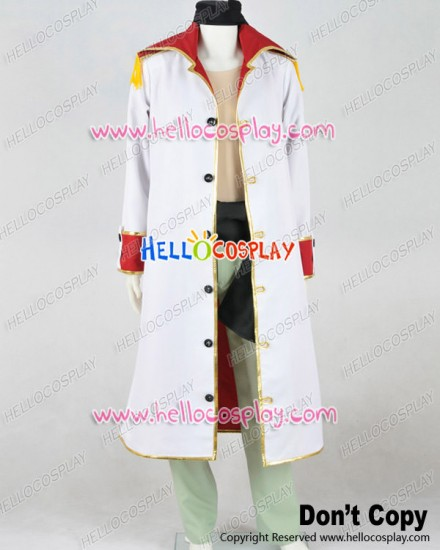 One Piece Cosplay Edward Newgate Trench Coat Uniform Costume
