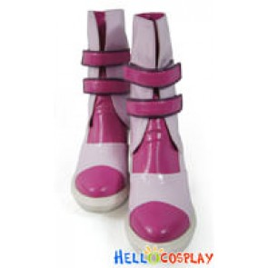 Final Fantasy XIII Cosplay Serah Farron Pink Shoes
