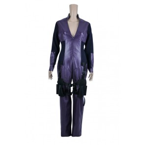 Resident Evil Retribution Cosplay Jill Valentine Purple Jumpsuit Costume