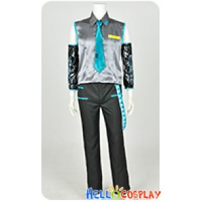 Vocaloid 2 Cosplay Hatsune Mikuo Costume Male Version Uniform